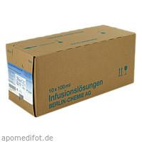 Isotone NaCl Lösung 0.9% BC Glas o. Aufhänger, 10X100 ML, Berlin-Chemie AG