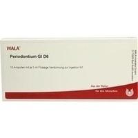 PERIODONTIUM GL D 6, 10X1 ML, Wala Heilmittel GmbH