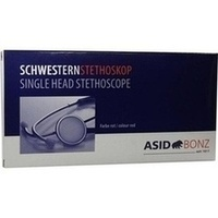 Stethoskop Schwestern rot, 1 ST, Asid Bonz GmbH