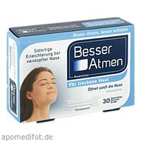 BESSER Atmen Nasenstrips transp.normale Größe, 30 ST, GlaxoSmithKline Consumer Healthcare
