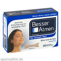 BESSER Atmen Nasenstrips beige normale Größe, 30 ST, GlaxoSmithKline Consumer Healthcare