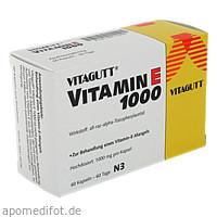 VITAGUTT VITAMIN E 1000, 60 ST, Cheplapharm Arzneimittel GmbH