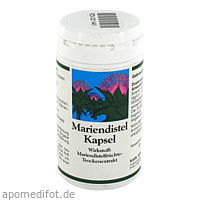 Mariendistel Kapseln, 60 ST, Allpharm Vertriebs GmbH
