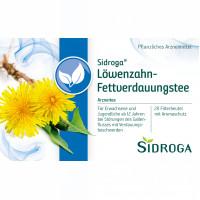 SIDROGA LOEWENZAHN, 20X1.5 G, Sidroga Gesellschaft Für Gesundheitsprodukte mbH
