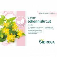 SIDROGA JOHANNISKRAUT, 20X1.75 G, Sidroga Gesellschaft Für Gesundheitsprodukte mbH