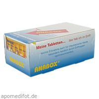 ANABOX Tagesbox weiß, 1 ST, Wepa Apothekenbedarf GmbH & Co. KG