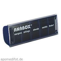 ANABOX-Tagesbox blau, 1 ST, Wepa Apothekenbedarf GmbH & Co. KG