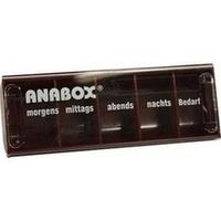 ANABOX-Tagesbox rot, 1 ST, Wepa Apothekenbedarf GmbH & Co. KG