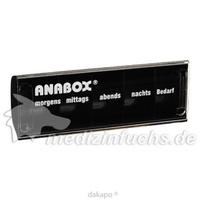 ANABOX-Tagesbox schwarz, 1 ST, Wepa Apothekenbedarf GmbH & Co. KG