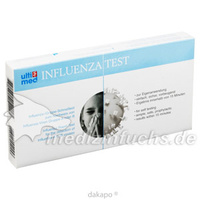 Influenza A/B Schnelltest für den Heimanwender, 1 ST, Gecko Pharma Vertrieb GmbH