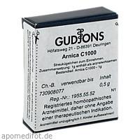 ARNICA C1000 Einzeldosis, 0.5 G, Gudjons GmbH
