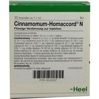 CINNAMOMUM HOMACCORD N, 10 ST, Biologische Heilmittel Heel GmbH