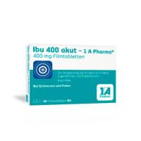 Ibu 400 akut - 1A Pharma, 50 ST, 1 A Pharma GmbH