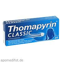 Thomapyrin CLASSIC Schmerztabletten, 20 ST, Sanofi-Aventis Deutschland GmbH GB Selbstmedikation /Consumer-Care
