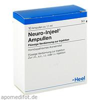 NEURO INJEEL, 10 ST, Biologische Heilmittel Heel GmbH