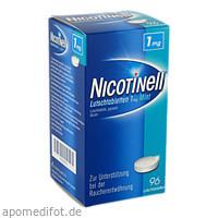 Nicotinell Lutschtabletten 1mg Mint, 96 ST, GlaxoSmithKline Consumer Healthcare