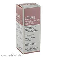 LÖWE-Komplex Nr.3 N Rauwolfia, 100 ML, Infirmarius GmbH