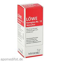 LÖWE-Komplex Nr.12 Aesculus, 100 ML, Infirmarius GmbH