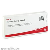 ISCUCIN CRATAEGI STAERKE E, 10X1 ML, Wala Heilmittel GmbH