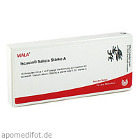 ISCUCIN SALICIS STAERKE A, 10X1 ML, Wala Heilmittel GmbH