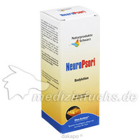 NeuroPsori Bodylotion, 150 ML, Naturprodukte Schwarz