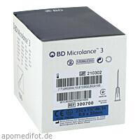 BD MICROLANCE 23G KAN 1 1/4, 100 ST, Becton Dickinson GmbH