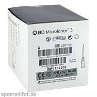 BD MICROLANCE 27G KAN 3/4, 100 ST, Becton Dickinson GmbH