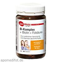 B-KOMPLEX+BIOTIN+FOLSÄURE, 300 ST, Dr. Wolz Zell GmbH