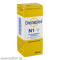 DIENAPLEX N1-V TROPFEN 100ml, 100 ML, Beate Diener Naturheilmittel E.K.
