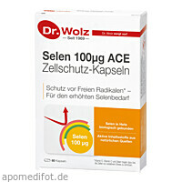 Selen ACE 100mcg 60 Tage- 2Monatspackung, 60 ST, Dr. Wolz Zell GmbH