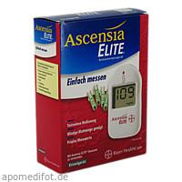 ASCENSIA Elite Einzel mg, 1 ST, Ascensia Diabetes Care Deutschland GmbH