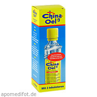 CHINA OEL + 3 INHALATOREN, 100 ML, BIO-DIAET-BERLIN GmbH