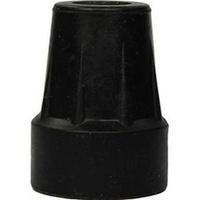 Krückenkapsel18/19mm schw m.Stahleinl.f.Unterarmst, 1 ST, Careliv Produkte Ohg