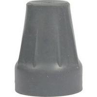 Krückenkapsel18/19mm grau m.Stahleinl.f.Unterarmst, 1 ST, Careliv Produkte Ohg