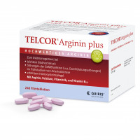 TELCOR Arginin plus, 240 ST, Quiris Healthcare GmbH & Co. KG