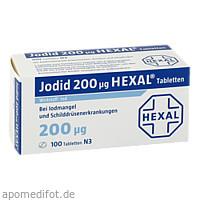 Jodid 200 Hexal, 100 ST, HEXAL AG