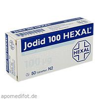 Jodid 100 Hexal, 50 ST, HEXAL AG