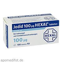 Jodid 100 Hexal, 100 ST, HEXAL AG