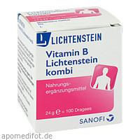 VITAMIN B LICHTENSTEIN Kombi, 100 ST, Zentiva Pharma GmbH