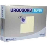 Urgosorb Silver 5x5cm, 10 ST, Urgo GmbH