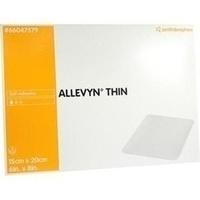 ALLEVYN THIN 15X20cm HYDROSELEKTIVE WUNDAUFLAGE, 3 ST, Smith & Nephew GmbH