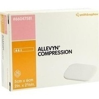 ALLEVYN COMPRESSION 5x6cm HYDROSELEKTIV WUNDAUFL., 10 ST, Smith & Nephew GmbH