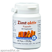Zimt Aktiv Kapseln, 60 ST, Pharma Peter GmbH