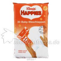 KLEENEX HAPPIES BABY WASCH, 30 ST, Kimberly-Clark GmbH