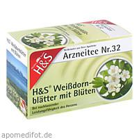 H&S WEISSDORNBL M BLUETEN, 20X1.6 G, H&S Tee - Gesellschaft mbH & Co.