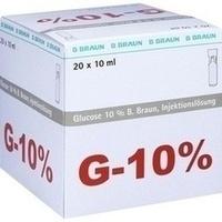 Glucose 10% Braun Mini-Plasco connect, 20X10 ML, B. Braun Melsungen AG