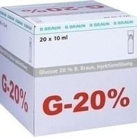 Glucose 20% Braun Mini-Plasco connect, 20X10 ML, B. Braun Melsungen AG