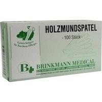 HOLZMUNDSPATEL BRI 16CM, 100 ST, Brinkmann Medical Ein Unternehmen der Dr. Junghans Medical GmbH