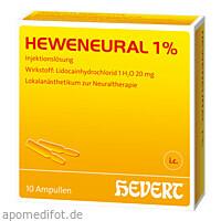 HEWENEURAL 1%, 10X2 ML, Hevert Arzneimittel GmbH & Co. KG