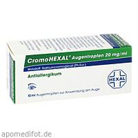 CROMOHEXAL, 10 Milliliter, HEXAL AG
